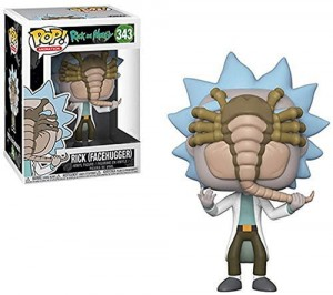 Figurka Rick and Morty POP! Rick Facehugger Exclusive