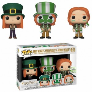 Figurka Harry Potter POP! 3-pack Ginny Fred George Weasley Limited Edition Exclusive Spring Convention