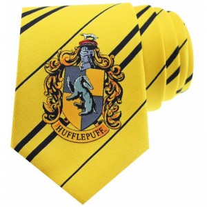 Krawat Harry Potter Hufflepuff