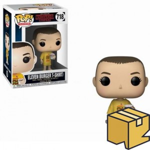 Figurka Stranger Things POP! Eleven Burger T-shirt *