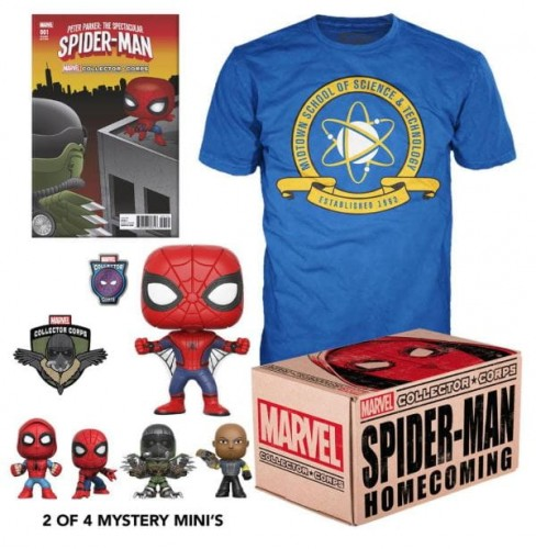 Pudełko Marvel Collector Corps Spider-Man Homecoming.JPG