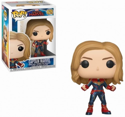 Figurka Kapitan Marvel Funko POP.JPG