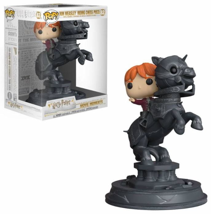 Figurka Funko POP Ron Weasley Riding Chess Piece.JPG