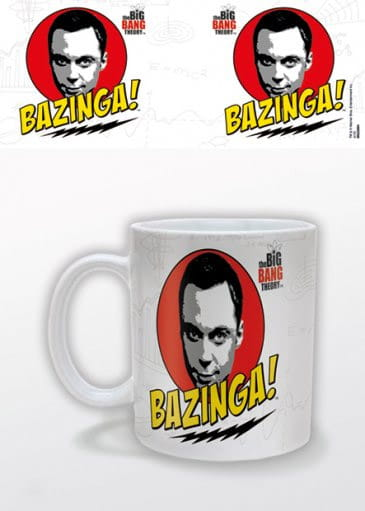 Kubek Big Bang Theory Bazinga