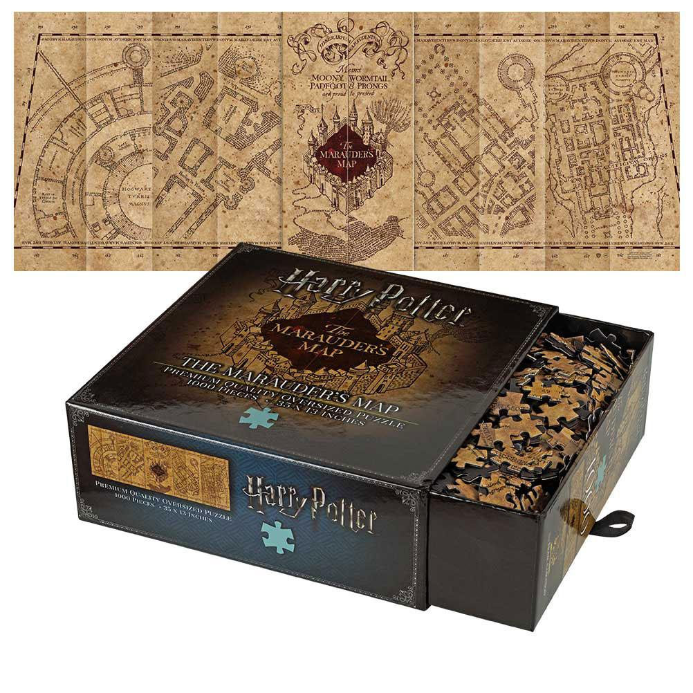Puzzle Harry Potter Mapa Huncwotów Noble Collection.jpg
